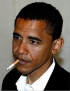 Obama Rokok